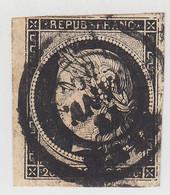 CERES N° 3. OBLITERÉ 13 JANV 49   / 1575 - 1849-1850 Ceres