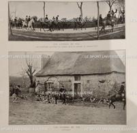 1910 PAU - LES CHASSES - DRAGS DE PAU - RENARD - 1900 - 1949