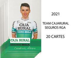 CARTES CYCLISME TEAM CAJARURAL 2021 ( 20 CARTES ) - Cycling