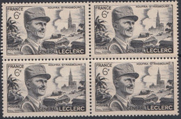 1948 FRANCE N** 815 MNH Bloc De 4 - Unused Stamps