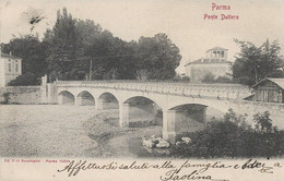 CARTOLINA PARMA - PONTE DATTERO - VIAGGIATA PRIMI '900 - M37 - Parma