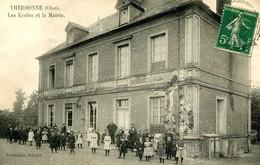 THERDONNE =  Les écoles Et La Mairie   2396 - Andere Gemeenten
