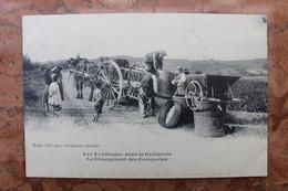 LES VENDANGES DANS LE GAILLACOIS (81) - LE CHARGEMENT DES COMPORTES - Gaillac
