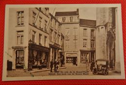 HALLE  -  HAL  -  Een Hoek Van De Groote Markt  - Un Coin De La Grand ' Place - Halle