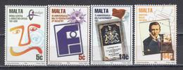 Malta 1996 - Anniversaires, Mi-nr. 985/88, MNH** - Malta