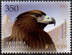 CEPT / Europa 2021 Arménie N° --- ** Animaux, Espèces Menacés - Aigle - Andere
