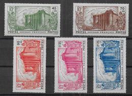 Soudan - Série N° 105 à 109 * - Cote : 75 € - Nuevos
