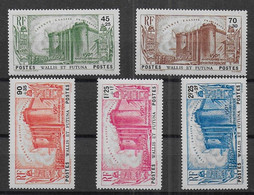 Wallis Et Futuna - Série N° 72 à 76 * *  - Cote : 187,50 € - Unused Stamps