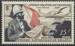 AFRIQUE EQUATORIALE FRANCAISE - AEF - A.E.F. - 1951 - YT PA 55** - MNH - Nuevos