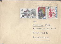 Tsjechoslowakije Brief Uit 1981 Met 3 Zegels (1732) - Brieven En Documenten