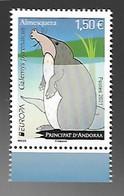 Andorre 2021 - Almesquera ** (Desman Des Pyrénées) - Unused Stamps