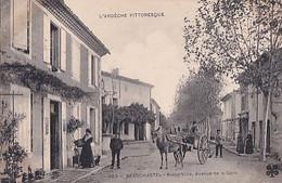 BEAUCHASTEL                       BASSE VILLE. AVENUE DE LA GARE    CLICHE ARTIGE - Other Municipalities