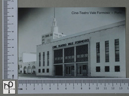 PORTUGAL - CINE-TEATRO VALE FORMOSO -  PORTO -   2 SCANS  - (Nº43116) - Porto