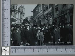 PORTUGAL - RUA 31 DE JANEIRO -  PORTO -   2 SCANS  - (Nº43119) - Porto