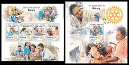 S. TOME & PRINCIPE 2020 - Rotary, Medicine - YT 6984-7 + BF1338, CV=38 € [ST200103] - Medicine