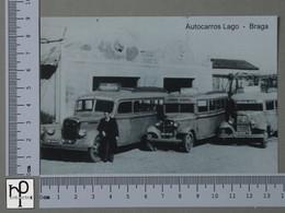 PORTUGAL - AUTOCARROS LAGO -  BRAGA -   2 SCANS  - (Nº43124) - Braga