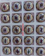 Série De 20 Capsules De Champagne -  ANDRE PATIS ( Les Valets) - Collezioni