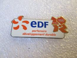PIN'S   EDF   JEUX OLYMPIQUES  LONDON  Zamak - EDF GDF