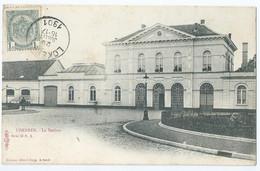 Lokeren - La Station - Editeur Albert Sugg - Serie 18 No 1 - 1901 - Lokeren
