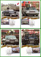 2770 2773 Ceremonial Cars 2021 Maximum Cards - Cartes Maximum