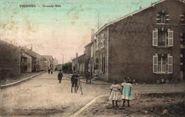 N°83994 -cpa Piennes -grande Rue- - Sonstige Gemeinden