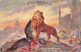 A La Belgique - Patriotic