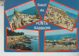 PUNTA SABBIONI VENEZIA  SALUTI VEDUTE  VG - Venezia (Venice)