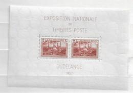 1937 MNH Luxemburg, Block 2 Postfris** - Unused Stamps