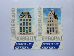 2021  2 Stamps Mint On A Letter (not Used) - Ungebraucht