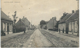 SAFFELAERE : Oosteind - TRES RARE VARIANTE - Cachet De La Poste 1924 - Lochristi