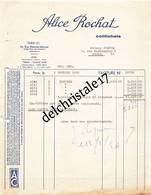 75 0986 PARIS SEINE 1956 Colifichets Alice ROCHAT Blouse Rue Étienne MARCEL Angle Place Des Victoires à Maison COSYUS - 1950 - ...