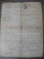 Document Révolution Française Conscription Militaire 2e Et 3e Classe Canton De Mailly-Maillet Somme Maillart Delaunay - Documentos