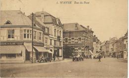 1. WAVRE : Rue Du Pont - TRES RARE VARIANTE - Cachet De La Poste 1925 - Wavre