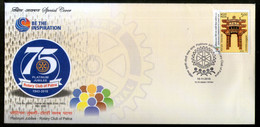 India 2018 Rotary Club Of Patna Special Cover # 18104 - Rotary, Lions Club