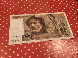 100 F DELACROIX 1987 Voir Le Scan Pour L'état - 100 F 1978-1995 ''Delacroix''