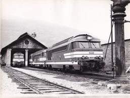 SNCF HAUTE SAVOIE BOURG SAINT MAURICE LE DEPOT CLICHE R. BERSOT - Trains