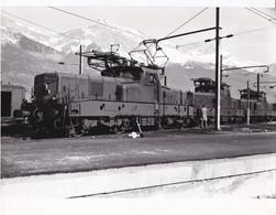 SNCF HAUTE SAVOIE SAINT GERVAIS LES BAINS BB 12132 CLICHE R. BERSOT - Trains