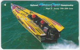 JERSEY A-065 Magnetic Telecom - Sport, Leisure, Powerboat Race - 75JERD - Used - [ 7] Jersey Und Guernsey