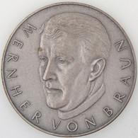 Médaille, Wernher Von Braun, Mondflug 1969 Apollo 11 - Professionals/Firms