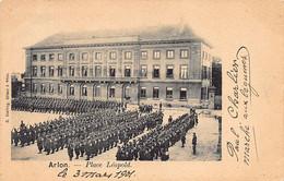 ARLON (Lux.) Parade Militaire Place Léopold - Arlon