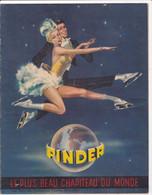 Programme : Cirque PINDER : Le Plus Beau Chapiteau Du Monde : 1955 : Complet - 27cm X 21cm : Publicité - Programs