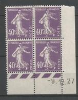 Coins Datés De France Neuf *  N 236  Année 1927  Charnière En Haut - ....-1929