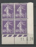 Coins Datés De France Neuf *  N 236  Année 1928  Charnière En Haut - ....-1929