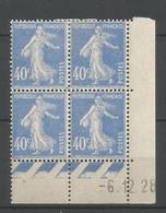 Coins Datés De France Neuf *  N 237  Année 1928  Charnière En Haut - ....-1929