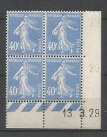 Coins Datés De France Neuf *  N 237  Année 1929  Charnière En Haut - ....-1929