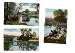 """Liège - Lot De 3 Cartes Postales - Cartes Publicitaire """"Maison Du Pont Des Arches"""" - 2 Scans - Liège"""
