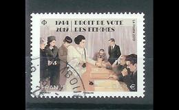 Superbe Timbre Gommé 5315 Droit De Vote Des Femmes 2019 Oblitérée TTB PCD Rond - Used Stamps