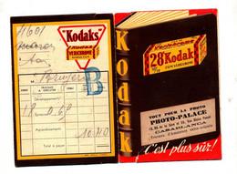Pochette Photo  Palace Casablanca  Publicité Film Kodak - Material Y Accesorios