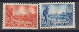 Australie 1934 Yvert Yvert 94 / 95 * Neufs Avec Charniere.Centenaire De La Colonie De Victoria. - Nuevos