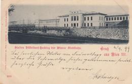Wien  XIV. , 1899 ,  STADTBAHN  ,  Station , Bahnhof  Hütteldorf-Hacking - Otros